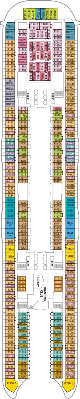 oasis of the seas floor plan oasis of the seas deck 11 deck plan oasis of the seas deck 11 deck layout
