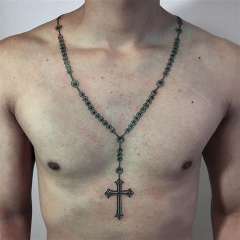 tattoo around neck 51 rosary tattoo ideas with meaning the wild tattoo 2018