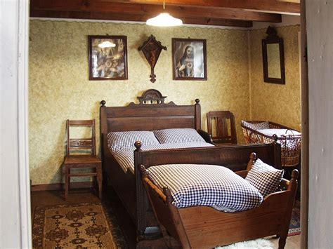 schlafzimmer um 1900 der alte sennekotten heimatzentrum owl