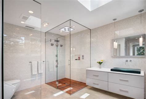 houzz tile a look at some glass enclosed showers from houzz