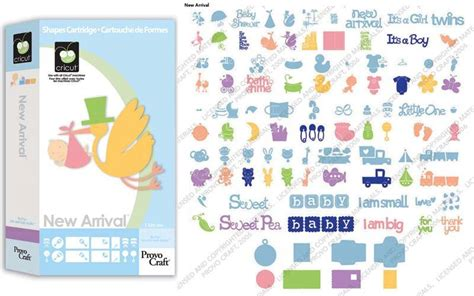 Cricut Cartridges Baby Shower by New Arrival Die Cut Cricut Cartridge Baby Pregnancy Showers