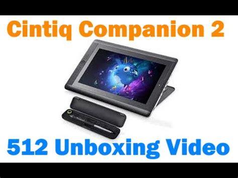 Wacom Cintiq Companion 2 512gb Ram 16gb unboxing cintiq companion 2 512gb i7 16gb ram