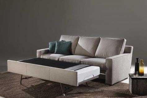 divano letto con materasso ortopedico divano con letto estraibile divani santambrogio