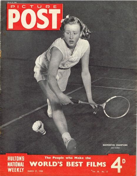Picture Post Nation 27 by 1948 Picture Post Magazine March 27 1948 Tennis