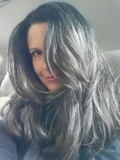 tame gray hair that sticks up long salt and pepper hair my natural hair is much
