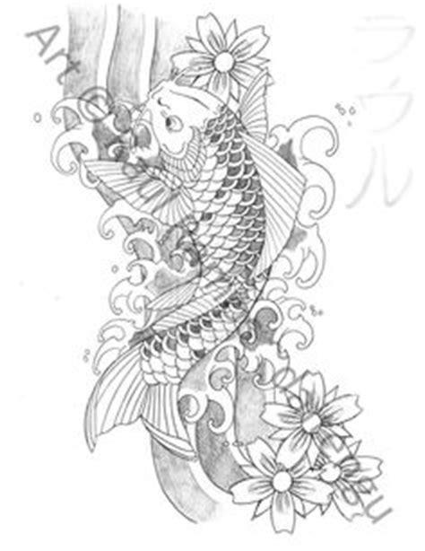 tattoo ikan koi di tangan free update trend tatto style lostbumblebee 169 2015 mdbn grown up colouring coloring