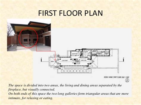 Robie House Floor Plan by Frank Llyod Wright Robie House Analysis