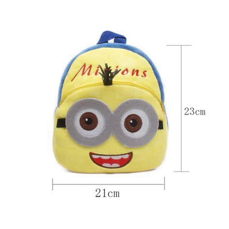 tas sekolah anak karakter kartun minion yellow jakartanotebook