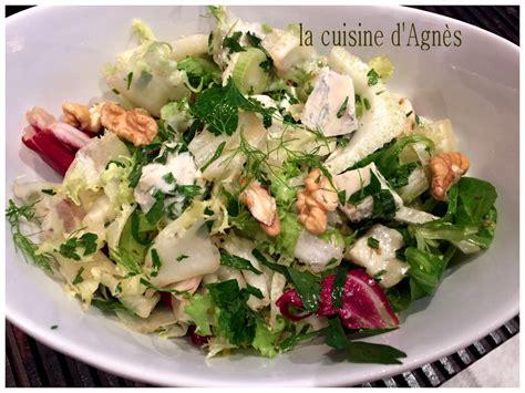 la cuisine d agnes salade m 233 lang 233 e au gorgonzola la cuisine d agn 232 sla