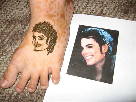 henna tribute to michael jackson life under the apple tree
