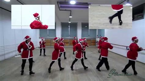 natale rap con testo rap un babbo natale in forma flash mob tutorial 2015