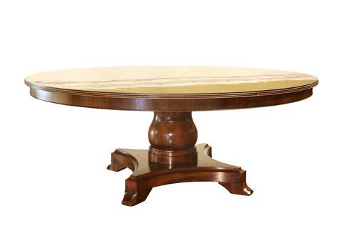 Mahogany Circular Dining Table by American Made 72 Inch Mahogany Pedestal Table