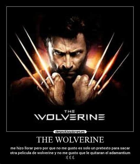 imagenes de el wolverine im 225 genes y carteles de wolverine pag 6 desmotivaciones