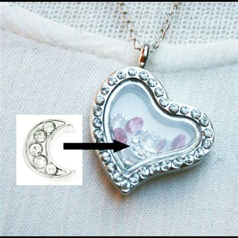 Origami Owl Silver Locket - bogo moon silver locket origami owl os from