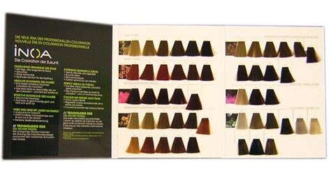 inoa supreme colour chart l oreal professional inoa hair colour chart hair color