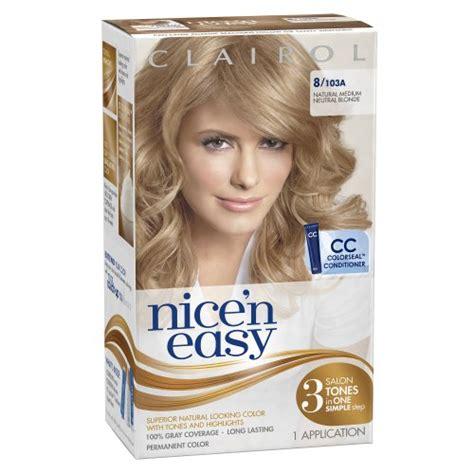amazon com clairol nice n easy foam hair color 4rb dark nice n easy 7g natural dark golden blonde 1 kit mayanka