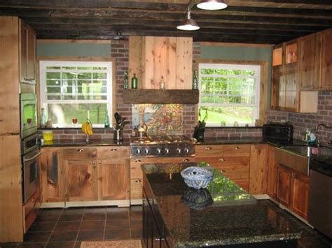 Barn Board Kitchen Cabinets by Old Barn Board Ideas Riversshed