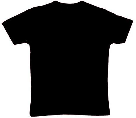 Kaos Baju Oblong Tshirt Bp gambar template kaos hitam polos depan belakang gambar