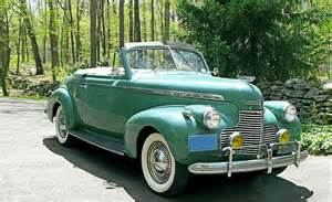 1940 Chevrolet Convertible Cars