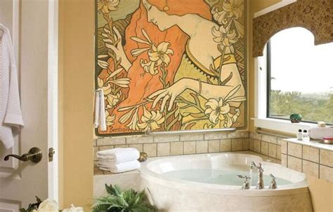 Modern Interior Design With Fresco Wall Murals Inspired By | modern interior design with fresco wall murals inspired by