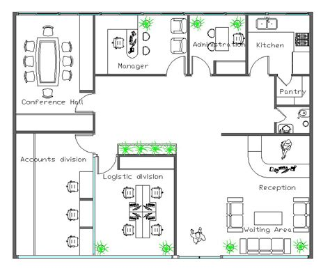 layout view cad autocad layout office freelancer