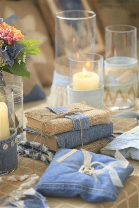 Denim Decorations by 21 Unique And Creative Denim Ideas For Your Wedding