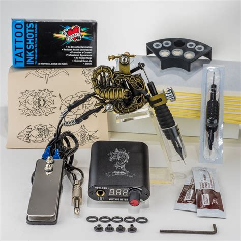 starter tattoo kit supplies for beginners