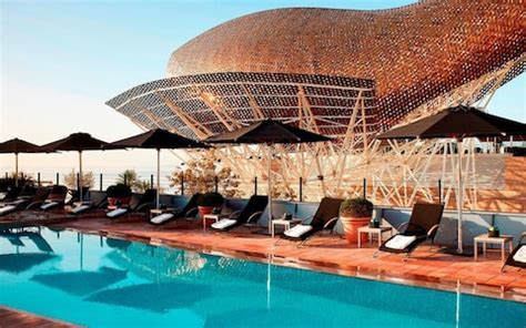 barcelona hotels   beach telegraph travel