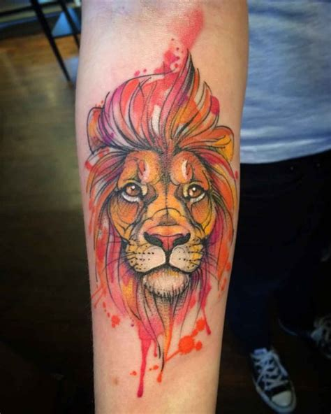 lion tattoo on arm best tattoo ideas gallery