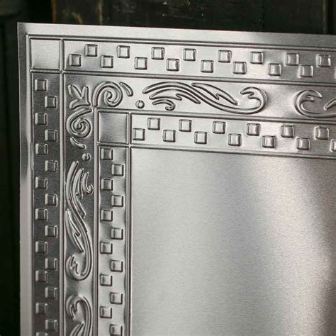 galvanized home decor galvanized metal vintage inspired ceiling tile ceiling