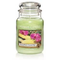 yankee candle pineapple cilantro large jar scented candle