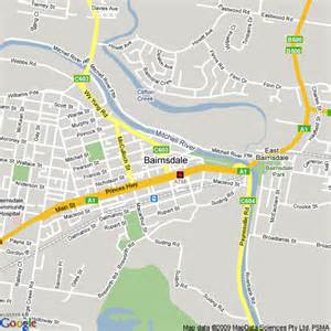 Comfort Inn East Map Of Bairnsdale Victoria Hotels Accommodation