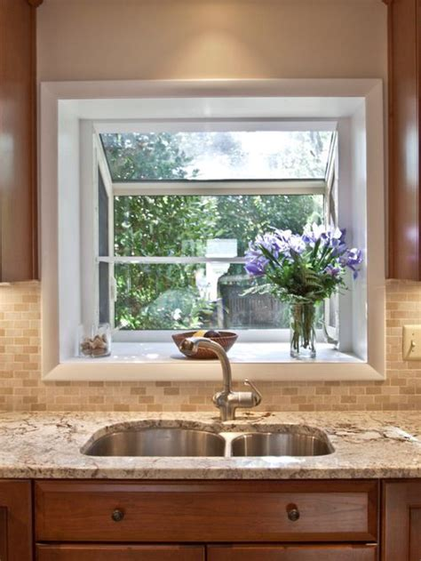 Garden Window Houzz Garden Windows For Kitchen