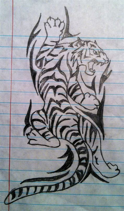 tiger tattoo design tattoos i want cool tattoo idea