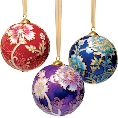 william morris cloisonn 233 christmas ornament set home