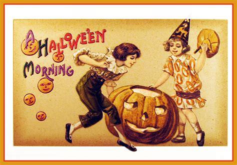 printable halloween postcards vintage halloween postcards and halloween poems free