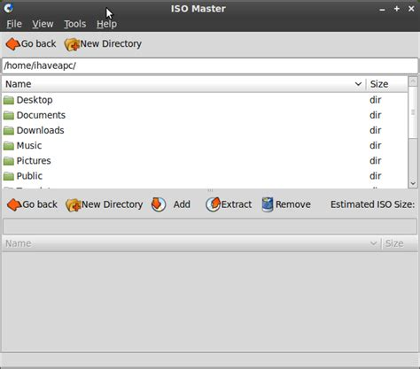 edit iso free iso master a free iso editor for linux mint i a pc