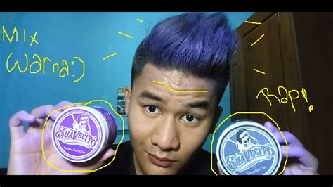 Pomade Berwarna review suavecito hair clay color pomade wax berwarna 2