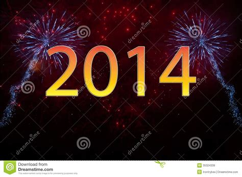 new year fireworks time new year 2014 fireworks royalty free stock images image