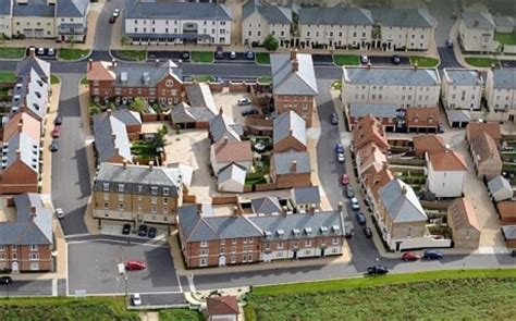 New England Style Home Plans by Vandals Turn Prince Charles S Dream Village Of Poundbury