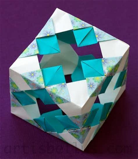 Joint Origami - modular cube origami artis bellus