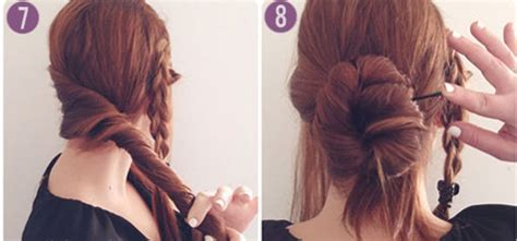 hair style pk how to making how to make side braid bun hairstyle 4 style pk
