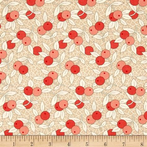Buy Quilting Fabric by Moda Chestnut Berries Chestnut Discount Designer