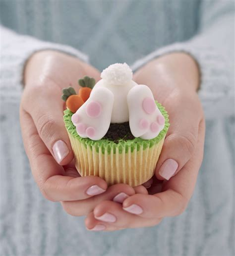 how to make easter bunny cupcakes hobbycraft blog