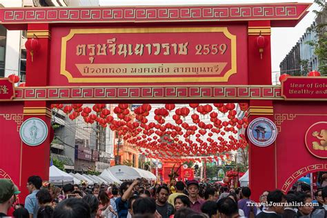 new year chinatown new year in bangkok chinatown yaowarat thailand