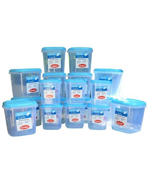 plastic storage containers kitchen chetan plastic kitchen storage containers airtight 18 pc