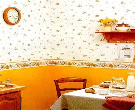 Orange Kitchen Wallpaper by 18 Creative Kitchen Wallpaper Ideas Ultimate Home Ideas