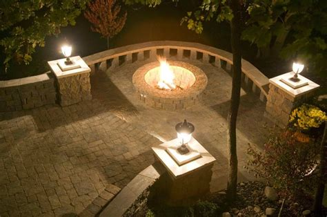 free standing pit beautiful of pit paving patio and