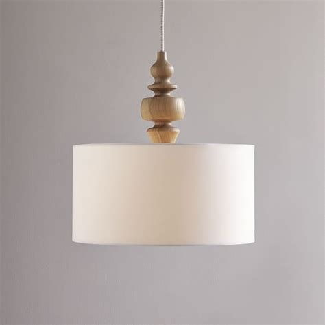 west elm pendants turning pendant wood white west elm