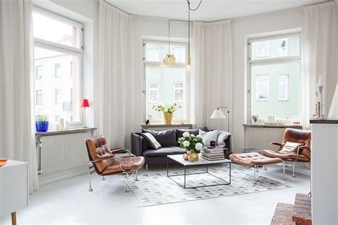 swedish living room modern swedish apartment with snazzy scandinavian charm